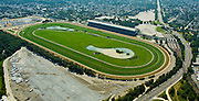 Aerial view of Belmont Park, Elmont, new york,