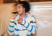 The british/norwegian rap artist Lloyd Lorenz, also called Love Daddy, is composing music to represent the organisation APAP International.