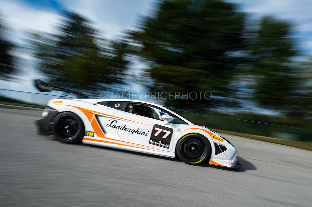 October 3-5, 2013. Lamborghini Super Trofeo - Virginia International Raceway. #77 Joe Courtney, MusanteMTSPRT, Lamborghini of Manhattan