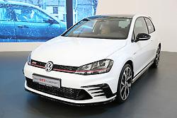 05.04.2016, Zagreb, CRO, Zagreb Auto Show, im Bild Volkswagen Tiguan R Line // Press day at Zagreb fair before official opening of Zagreb Auto Show at Zagreb, Croatia on 2016/04/05. EXPA Pictures &copy; 2016, PhotoCredit: EXPA/ Pixsell/ Dalibor Urukalovic<br /> <br /> *****ATTENTION - for AUT, SLO, SUI, SWE, ITA, FRA only*****