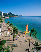Waikiki, Oahu, Hawaii, USA