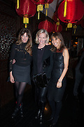 JEMIMA KHAN; ELIZABETH MURDOCH; HENRIETTA CONRAD, Chinese New Year dinner given by Sir David Tang. China Tang. Park Lane. London. 4 February 2013.