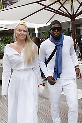 May 28, 2019, Paris, France: Lindsey Vonn and Kenan Smith arrive to watch French Open. (Credit Image: © Panoramic via ZUMA Press)