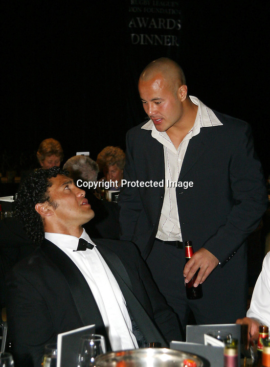 21 November, 2003. Heritage Hotel, Auckland, New Zealand. NZRL Awards.<br />