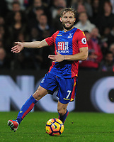 Football - 2016 / 2017 Premier League - Crystal Palace vs. Liverpool<br /> <br /> Yohan Cabaye of Crystal Palace at Selhurst Park.<br /> <br /> COLORSPORT/ANDREW COWIE