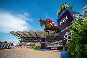 Laura Klaphake - Catch Me If You Can OLD<br /> FEI World Equestrian Games Tryon 2018<br /> © DigiShots - Jon Stroud Media