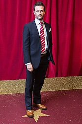 © Licensed to London News Pictures . 16/05/2015 .  The Palace Hotel , Manchester , UK . Glen Wallace . The red carpet at the 2015 British Soap Awards , The Palace Hotel , Oxford Road , Manchester . Photo credit : Joel Goodman/LNP