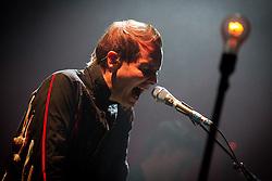 © Licensed to London News Pictures . 03/03/2013 . Manchester , UK . Jónsi Birgisson . Sigur Ros perform live at the 02 Apollo Manchester . Photo credit : Joel Goodman/LNP