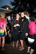 JULIA RESTOIN-ROITFELD, The Summer party 2011 co-hosted by Burberry. The Summer pavilion designed by Peter Zumthor. Serpentine Gallery. Kensington Gardens. London. 28 June 2011. <br /> <br />  , -DO NOT ARCHIVE-© Copyright Photograph by Dafydd Jones. 248 Clapham Rd. London SW9 0PZ. Tel 0207 820 0771. www.dafjones.com.