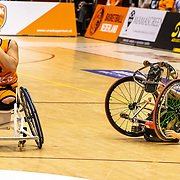 NLD/Rotterdam/20190706 - BN'ers spelen rolstoelbasketbal tijdens EK rolstoelbasketbal vrouwen, nr.4 Sylvana van Hees