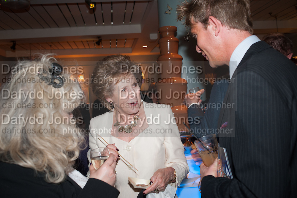 DAME NORMA MAJOR; , The press night performance of the Menier Chocolate Factory's 'Merrily We Roll Along', following its transfer to the Harold Pinter Theatre, After-show party at Grace Restaurant, Gt. Windmill St. London. 1 May 2013.
