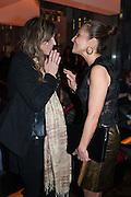 MARTHA FIENNES; ELLA KRASNER;, Liberatum Cultural Honour  for John Hurt, CBE in association with artist Svetlana K-Lié.  Spice Market, W London - Leicester Square