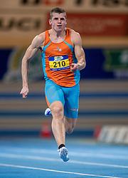 11-02-2017 NED: AA Drink NK Indoor, Apeldoorn<br /> Rik Jansen 60 meter