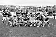 All Ireland Minor Hurling Final at Croke Park - Tipperary v Kilkenny..The Kilkenny team..05.09.1976  5th September 1976