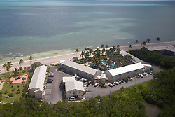 Aerial view of a hotel, Key West, Florida, United States of America