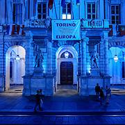 Torino in blu