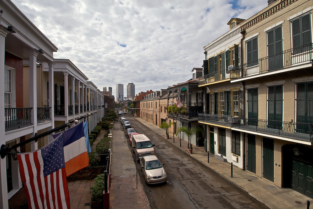 Chartres Street, Toward CBD, French Quarter, New Orleans, LA