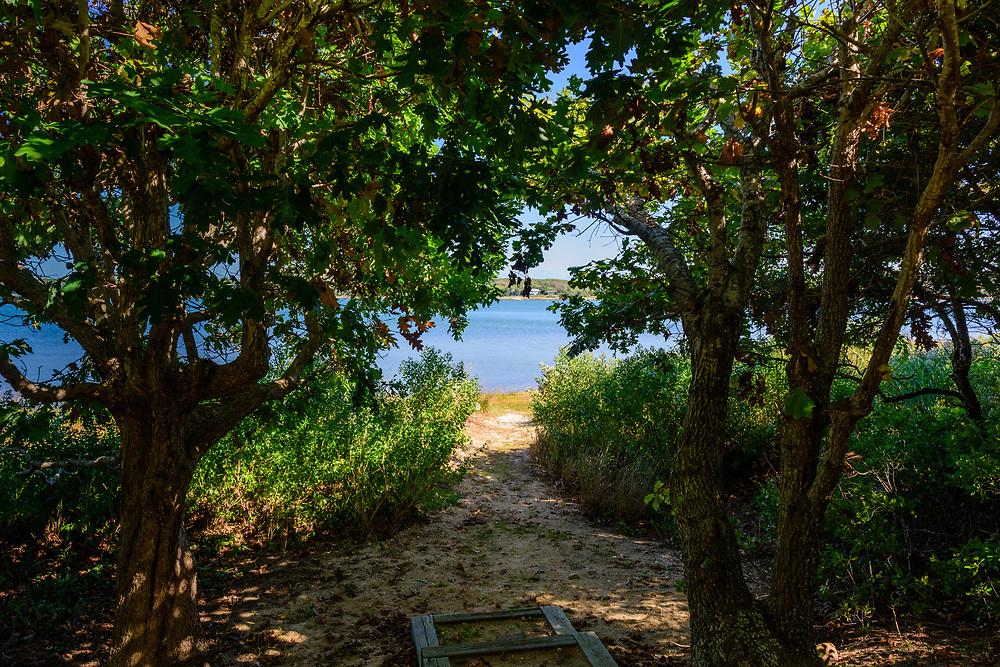 Three Mile Harbor from 84 Oyster Shores, East Hampton, NY