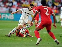 Frank Lampard<br /> England World Cup 2010<br /> Robert Koren Slovenia<br /> Slovenia V England 23/06/10 Group C at the Nelson Mandela Bay/Port Elizabeth Stadium FIFA World Cup 2010<br /> Photo Robin Parker Fotosports International