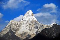Ama Dablam, the Everest region of Nepal