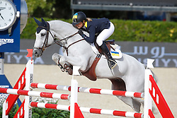 Offel Katharina (UKR) - Charlie<br /> Furusiyya FEI Nations Cup Jumping Final Round 1<br /> CSIO Barcelona 2013<br /> © Dirk Caremans