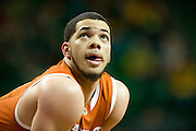 WACO, TX - JANUARY 25: Javan Felix #3 of the Texas Longhorns looks on against the Baylor Bears on January 25, 2014 at the Ferrell Center in Waco, Texas.  (Photo by Cooper Neill/Getty Images) *** Local Caption *** Javan Felix