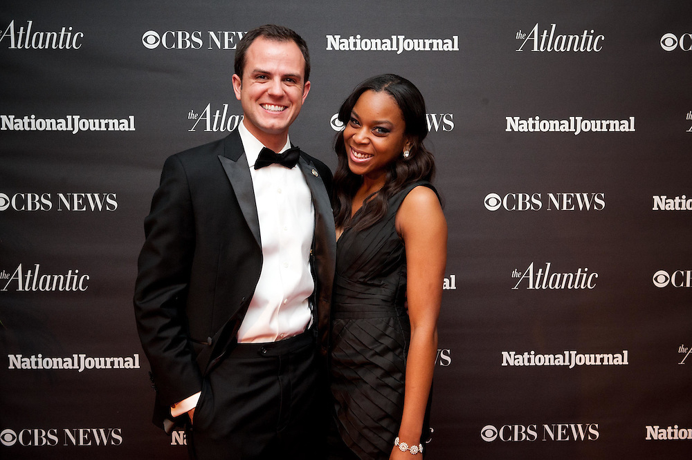 2012 WHCD Photos - National Journal, CBS News and The Atlantic host a Pre-Dinner Cocktail Reception.