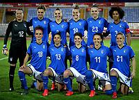 International Women's Friendly Matchs 2019 / <br /> Womens's Cyprus Cup Tournament 2019 - <br /> Korea DPR v Italy 3-3 aet ( GSZ Stadium - Larnaca,Cyprus ) - <br /> Team of Italy ,Pose prior the Final Match ,from the left up :Chiara Marchitelli ,Cristiana Girelli ,Alia Guagni ,Aurora Galli ,Cecilia Salvai ,Sara Gama //<br /> Barbara Bonansea ,Elisa Bartoli ,Manuela Giugliano ,Ilaria Mauro ,Valentina Cernoia
