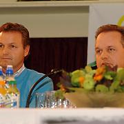 NLD/Alphen aan de Rijn/20060308 - Presentatie nieuwe wielerploeg Leontien van Moorsel, AA Drink Cycling team, Tjerk Bogstra en Addo Huisman