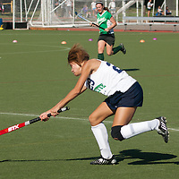 6 SEP 2010 -- FENTON, Mo. -- Marquette High School  field hockey player, Mallory Arrendondon (29) passes down field against Nerinx Hall Academy Green during the Gateway Field Hockey Labor Day Tournament at the A-B Center in Fenton, Mo., Monday Sept. 6, 2010.  The match ended tied 2-2.