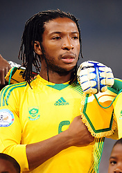 Macbet Sabaya  during the soccer match of the 2009 Confederations Cup between Spain and South Africa played at the Freestate Stadium,Bloemfontein,South Africa on 20 June 2009.  Photo: Gerhard Steenkamp/Superimage Media.