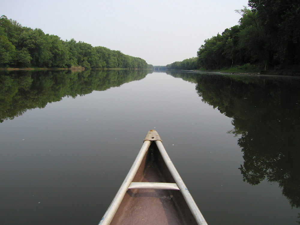 Canoe on Potomac River