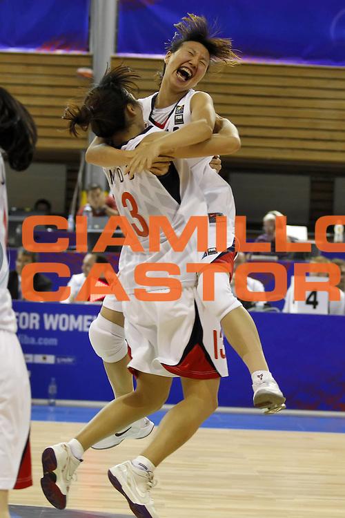 DESCRIZIONE : Brno Repubblica Ceca Czech Republic Women World Championship 2010 Campionato Mondiale Preliminary Round Korea Brasil<br /> GIOCATORE : Danbi KIM<br /> SQUADRA : Korea Corea<br /> EVENTO : Brno Repubblica Ceca Czech Republic Women World Championship 2010 Campionato Mondiale 2010<br /> GARA : Korea Brasil Corea Brasile<br /> DATA : 23/09/2010<br /> CATEGORIA : esultanza jubilation<br /> SPORT : Pallacanestro <br /> AUTORE : Agenzia Ciamillo-Castoria/ElioCastoria<br /> Galleria : Czech Republic Women World Championship 2010<br /> Fotonotizia : Brno Repubblica Ceca Czech Republic Women World Championship 2010 Campionato Mondiale Preliminary Round Korea Brasil<br /> Predefinita :