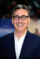 Thomas Bezucha attending The Guernsey Literary and Potato Peel Pie Society world premiere held at Curzon Mayfair, London.