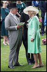 Royals at Royal Ascot-Day two - 20 June 2018