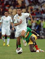 FOOTBALL - AFRICAN NATIONS CUP 2010 - GROUP A - ALGERIA v MALI - 14/01/2010 - PHOTO MOHAMED KADRI / DPPI - NADIR BELHADJ (ALG)
