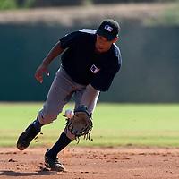 Baseball - MLB Academy - Tirrenia (Italy) - 19/08/2009 - Bjorn Hato (Netherlands)