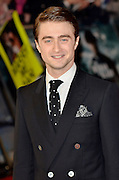 24.JANUARY.2012. LONDON<br /> <br /> DANIEL RADCLIFFE AT THE WOMAN IN BLACK PREMIERE HELD AT THE ROYAL FESTIVAL HALL IN LONDON<br /> <br /> BYLINE: EDBIMAGEARCHIVE.COM<br /> <br /> *THIS IMAGE IS STRICTLY FOR UK NEWSPAPERS AND MAGAZINES ONLY*<br /> *FOR WORLD WIDE SALES AND WEB USE PLEASE CONTACT EDBIMAGEARCHIVE - 0208 954 5968*