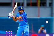 India ODI Captain & batsman Virat Kohli hits a boundary  during the 3rd Royal London ODI match between England and India at Headingley Stadium, Headingley, United Kingdom on 17 July 2018. Picture by Simon Davies.
