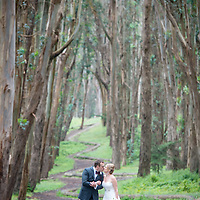 San Francisco Wedding May 7, 2016: Eric and Danielle San Francisco Wedding at the Golden Gate Club in the Presidio - Portraits at Crissy Field and the Woodlands