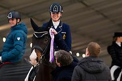 Roos Laurence, BEL, Fil Rouge<br /> Jumping Mechelen 2019<br /> © Hippo Foto - Sharon Vandeput<br /> 28/12/19