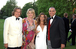 Left to right, LOUSIE FENNELL, THEO FENNELL and TANYA & VINNIE JONES at the Game Conservancy Jubilee Ball in aid of the Game Conservancy Trust held at The Hurlingham Club, London SW6 on 26th May 2005<br /><br />NON EXCLUSIVE - WORLD RIGHTS