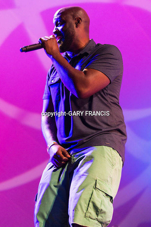 De La Soul from New York performing at Womadelaide 2016 Music Festival held between 11 - 14 March 2016 in Adelaide, South Australia