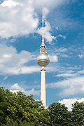 The Tv Tower of Berlin, Germany