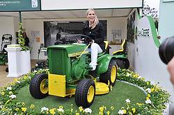 ZARA PHILLIPS at the 2013 RHS Chelsea Flower Show held in the grounds of the Royal Hospital, Chelsea on 20th May 2013.