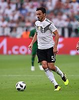 FUSSBALL  INTERNATIONAL TESTSPIEL  IN LEVERKUSEN Deutschland -  Saudi-Arabien              08.06.2018 Mats Hummels (Deutschland)