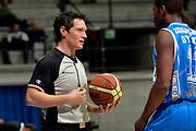 DESCRIZIONE : Final Eight Coppa Italia 2015 Desio Quarti di Finale Dinamo Banco di Sardegna Sassari - Vanoli Cremona<br /> GIOCATORE : Emanuele Aronne arbitro<br /> CATEGORIA : arbitro<br /> SQUADRA : arbitro<br /> EVENTO : Final Eight Coppa Italia 2015 Desio<br /> GARA : Dinamo Banco di Sardegna Sassari - Vanoli Cremona<br /> DATA : 20/02/2015<br /> SPORT : Pallacanestro <br /> AUTORE : Agenzia Ciamillo-Castoria/GiulioCiamillo