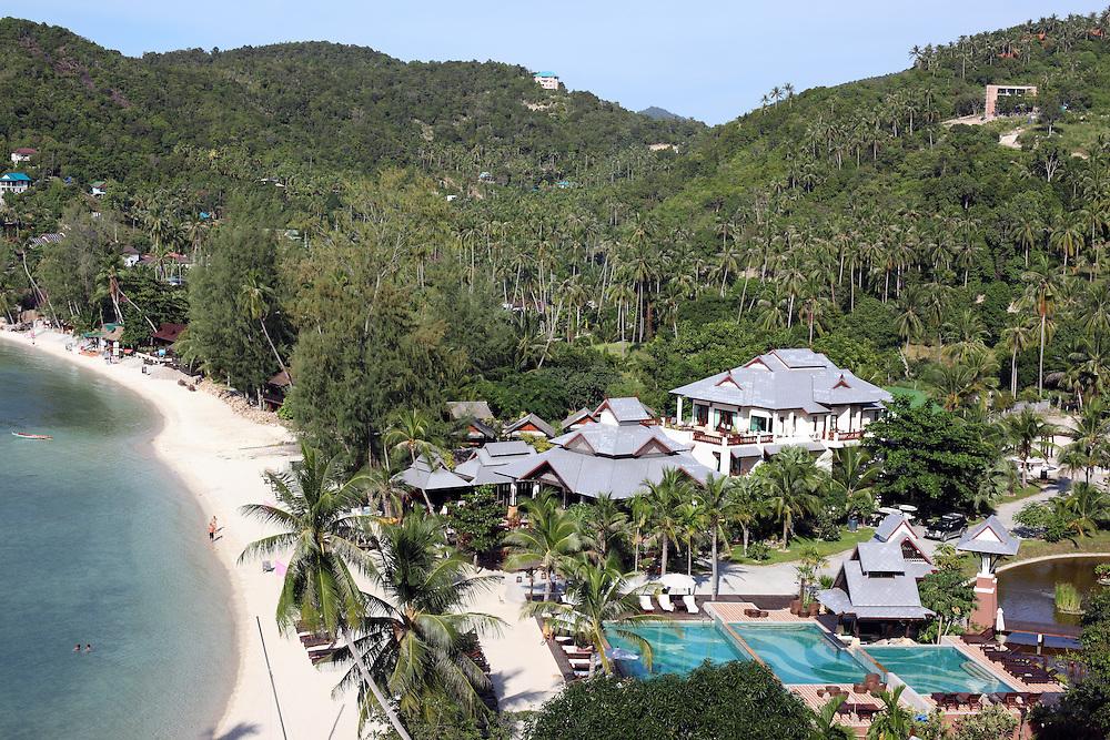 Resort at Ao Haad Salad on the northwest coast.