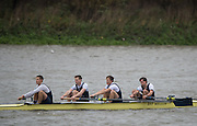 Hammersmith, Greater Game, London, UK. Isis III, Elite 4+. competing in the 2015 Fours Head of the River Race, River Thames [ opposite Chiswick Eyot]  Saturday  07/11/2015 <br /> <br /> [Mandatory Credit: Peter SPURRIER: Intersport Images]