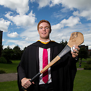 "25.08.2016          <br />  Faculty of Business, Kemmy Business School graduations at the University of Limerick today. <br /> <br /> Attending the conferring was Tipperary Senior Hurler, Jason Forde,Bachelor of Business Studies, Silveriness Co. Tipperary. Picture: Alan Place.<br /> <br /> <br /> As the University of Limerick commences four days of conferring ceremonies which will see 2568 students graduate, including 50 PhD graduates, UL President, Professor Don Barry highlighted the continued demand for UL graduates by employers; ""Traditionally UL's Graduate Employment figures trend well above the national average. Despite the challenging environment, UL's graduate employment rate for 2015 primary degree-holders is now 14% higher than the HEA's most recently-available national average figure which is 58% for 2014"". The survey of UL's 2015 graduates showed that 92% are either employed or pursuing further study."" Picture: Alan Place"